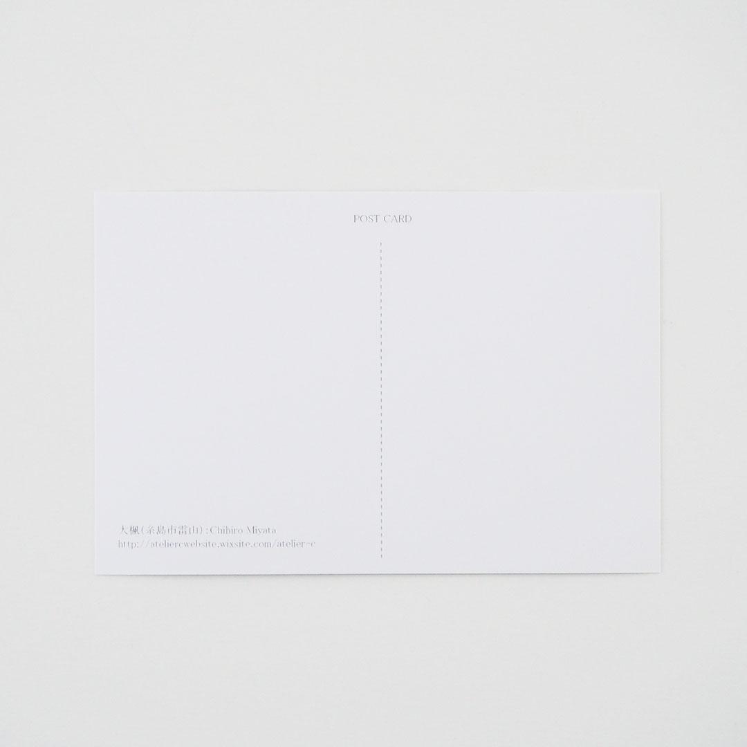 ポストカード/大楓(横)