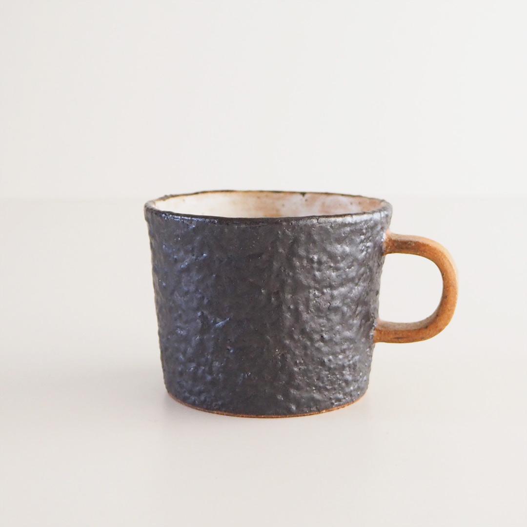 YOGAN黒/マグカップ