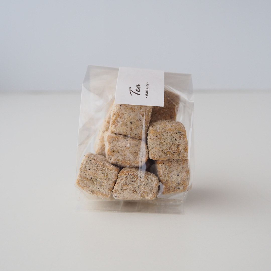 キューブクッキー/有機紅茶