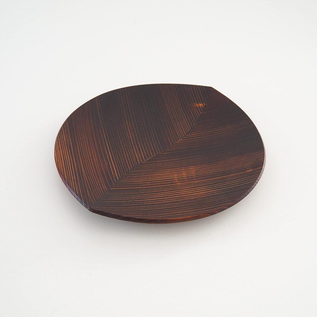 うるしの木の葉皿/中/27cm