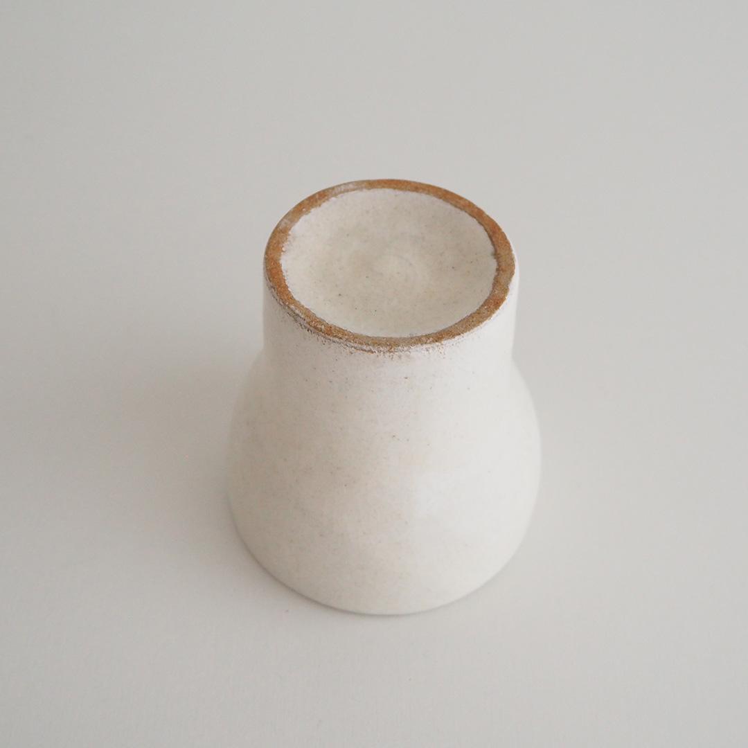 粉引/ラッパ型フリーカップ