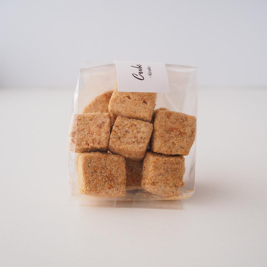 キューブクッキー/きなこ