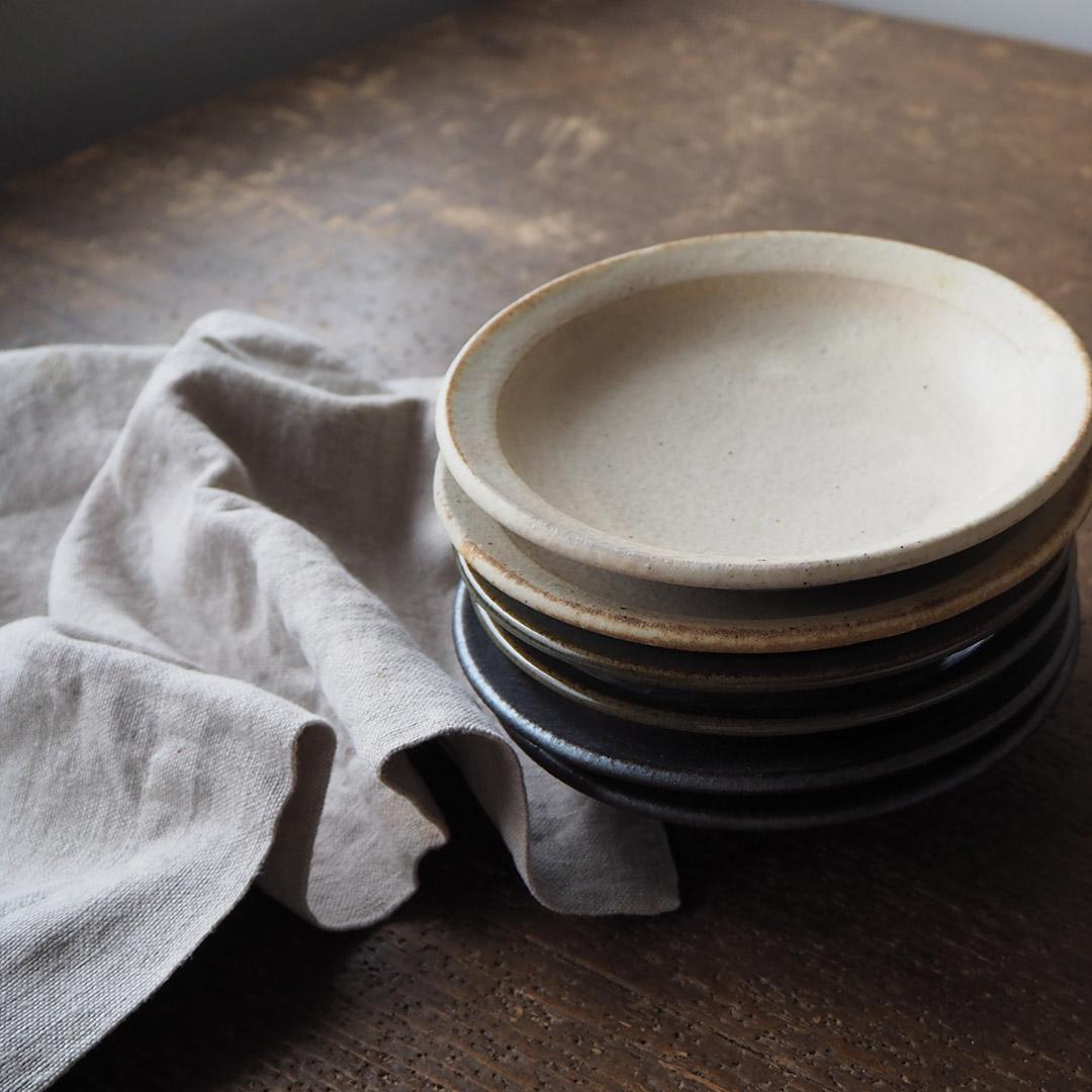アイボリー釉/取り皿