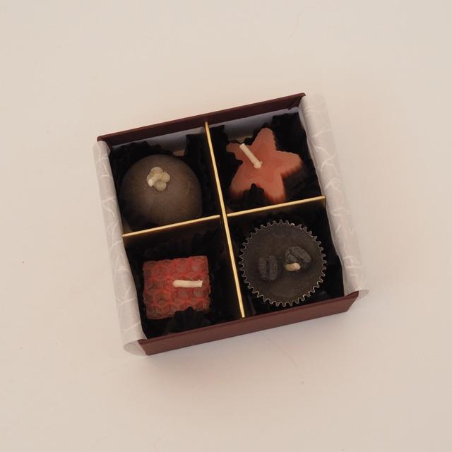 みつろうキャンドル/チョコ【受注生産】