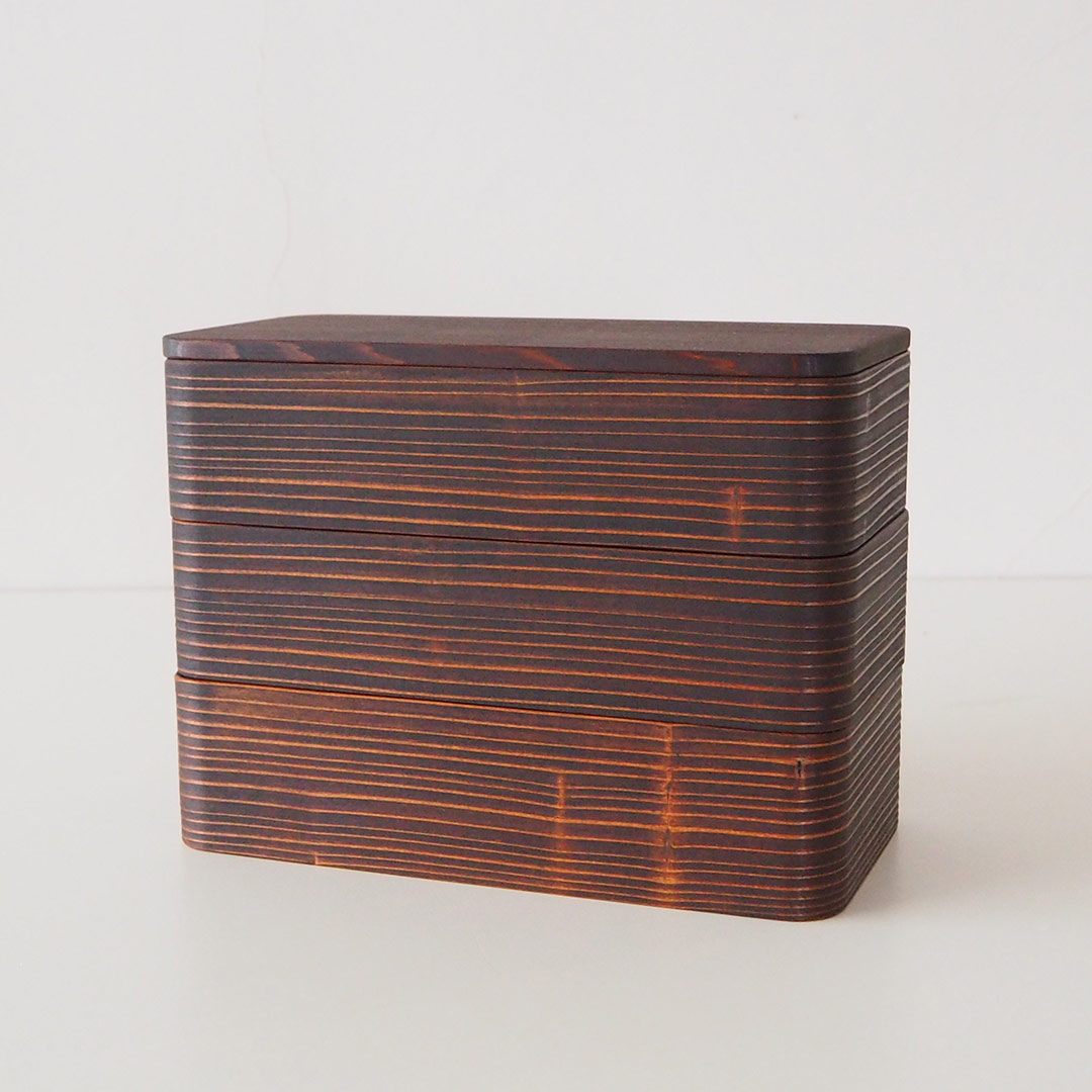 うるしの弁当箱/重箱3段