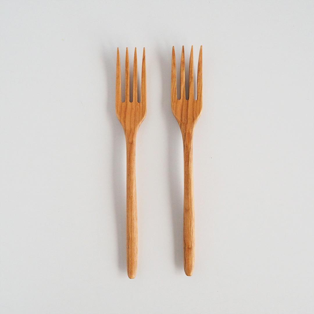 木のフォーク/20cm/さくら