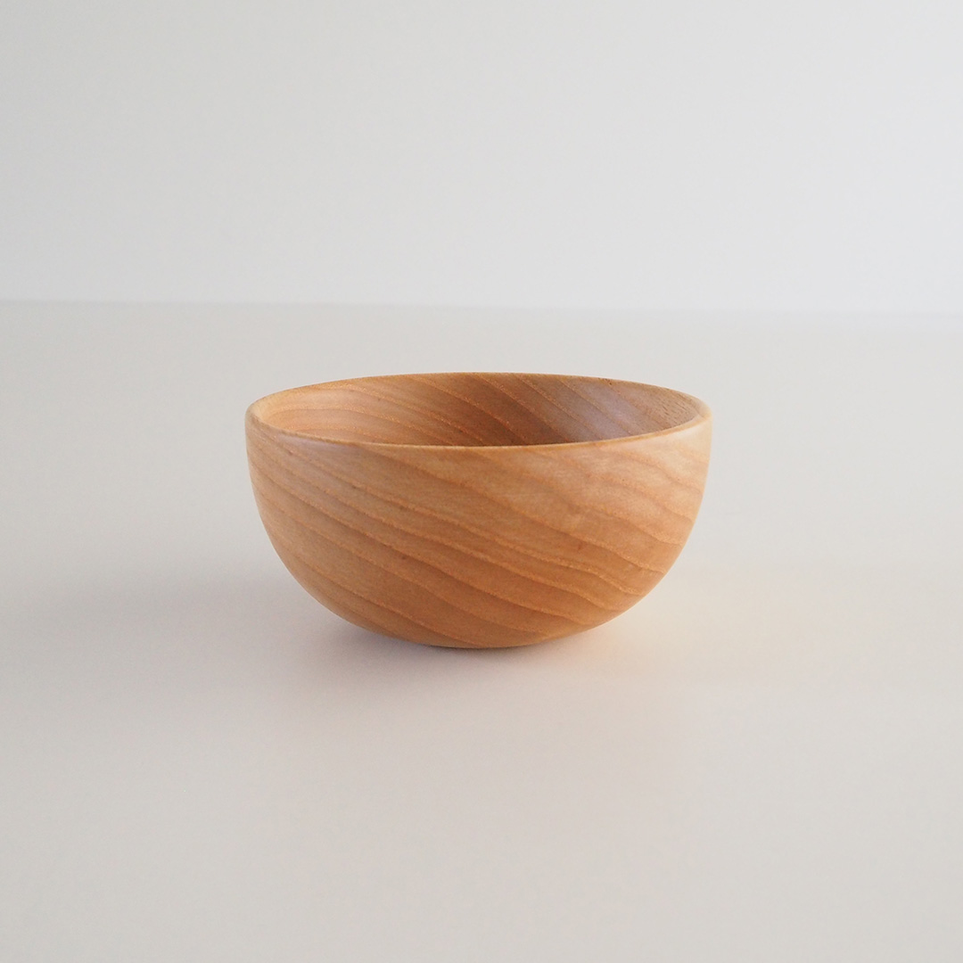 木のナッツボウル/深型/タモ
