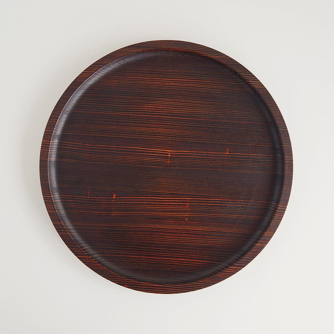 うるしの丸盆/大/36cm