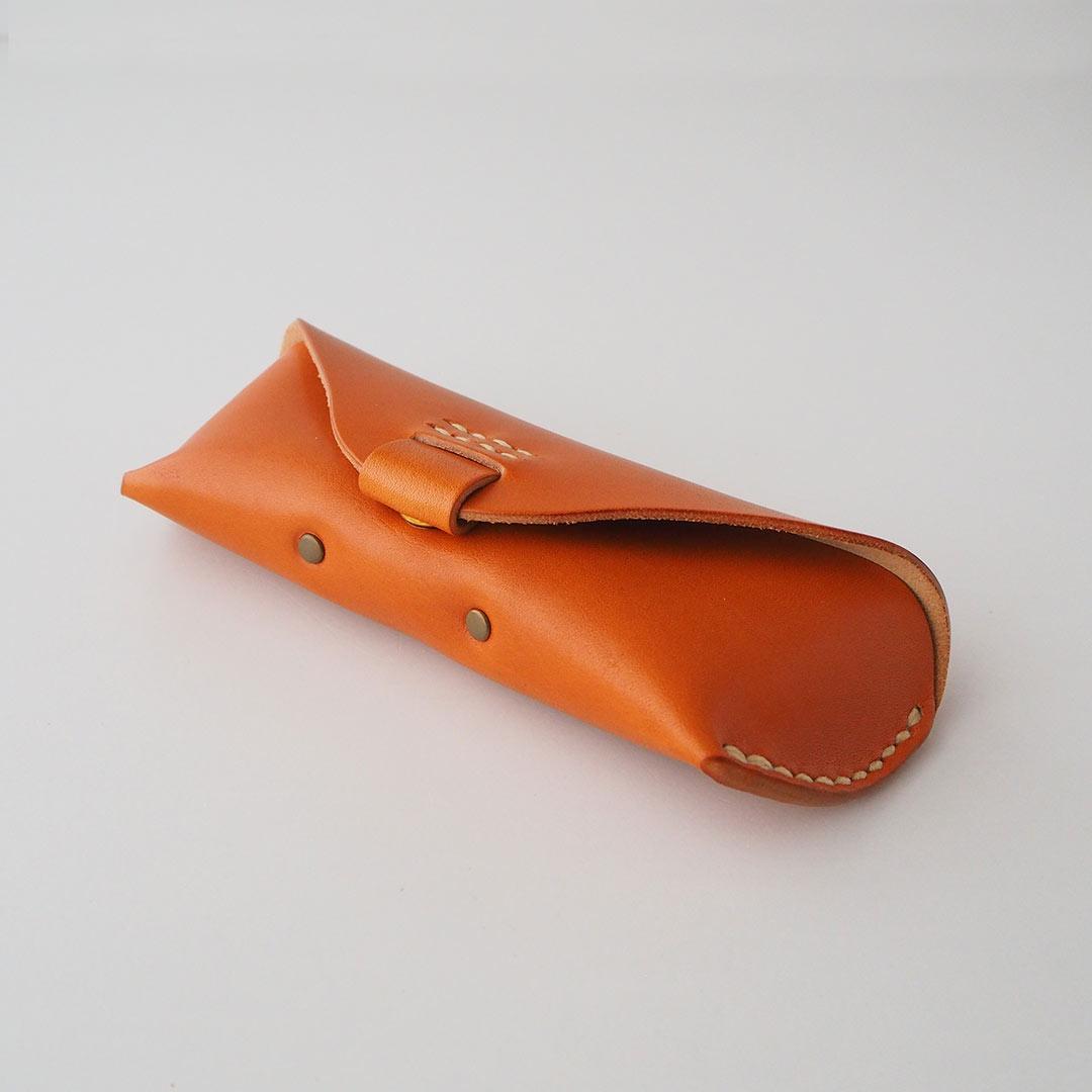 革製メガネケース