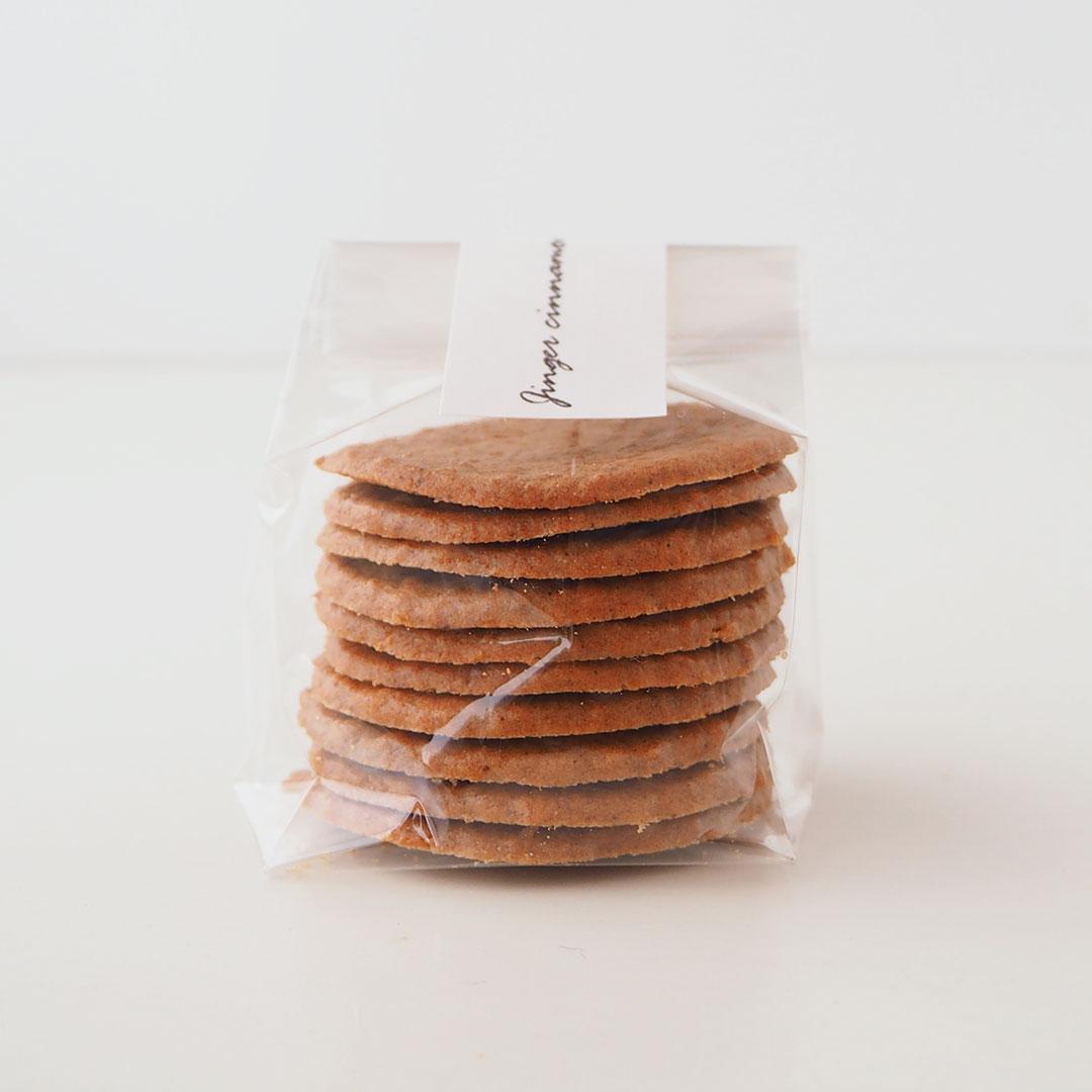 ジンジャーシナモンクッキー【季節限定】