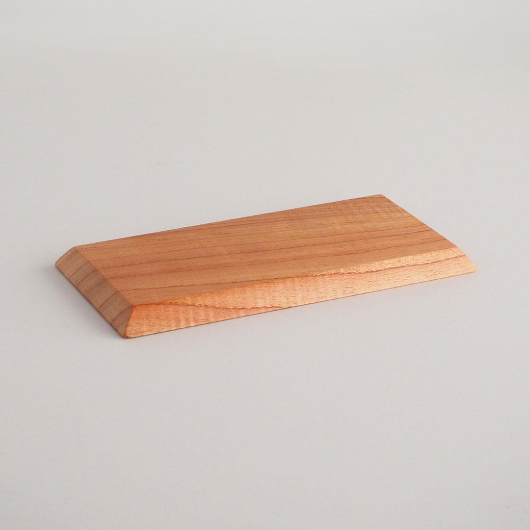 木の長角皿/せんだん