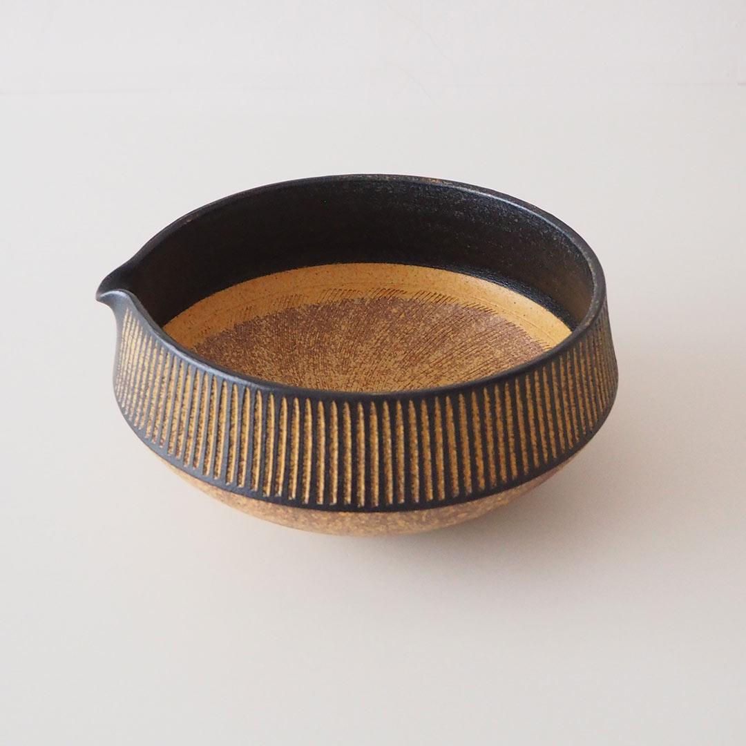 鉄彩/すり鉢/大