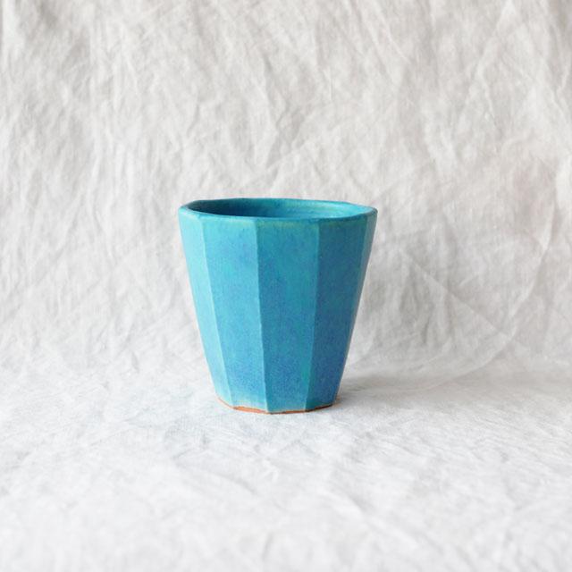 Pure blue/トールカップ(面取り)