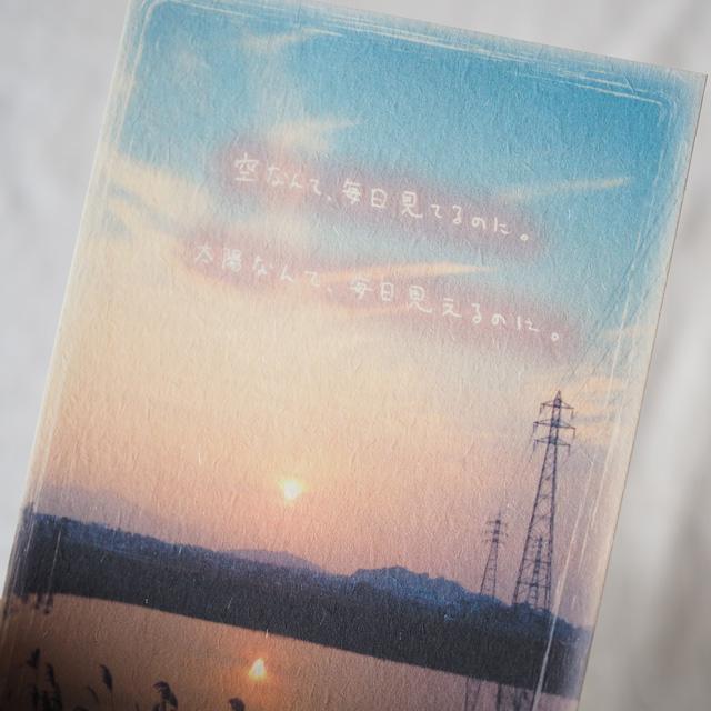 写真と言葉のポストカード/030見とれる