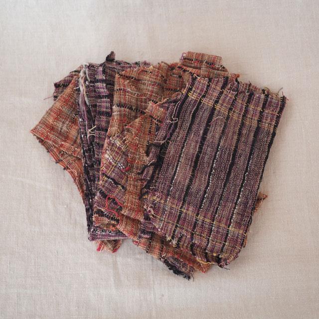 ハギレ/THAI手紡ぎ手織布