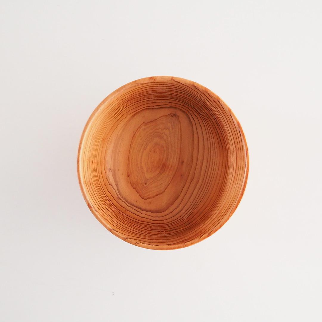 糸島杉の味噌汁椀/中