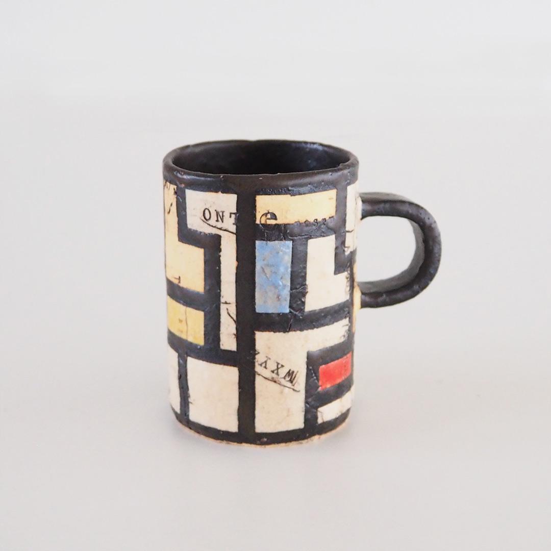 Beatiles/スリムマグカップ/黒