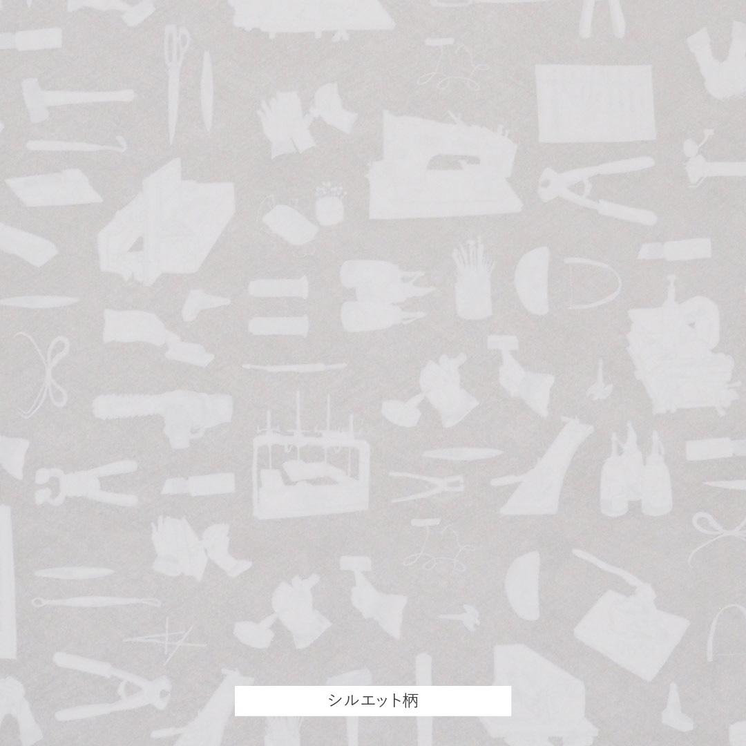 ギフトラッピング/つくり手の道具柄/紙袋