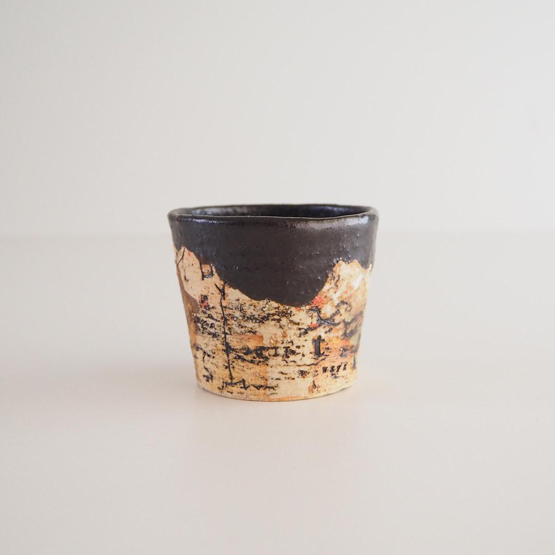 memollage/ミニカップ/黒