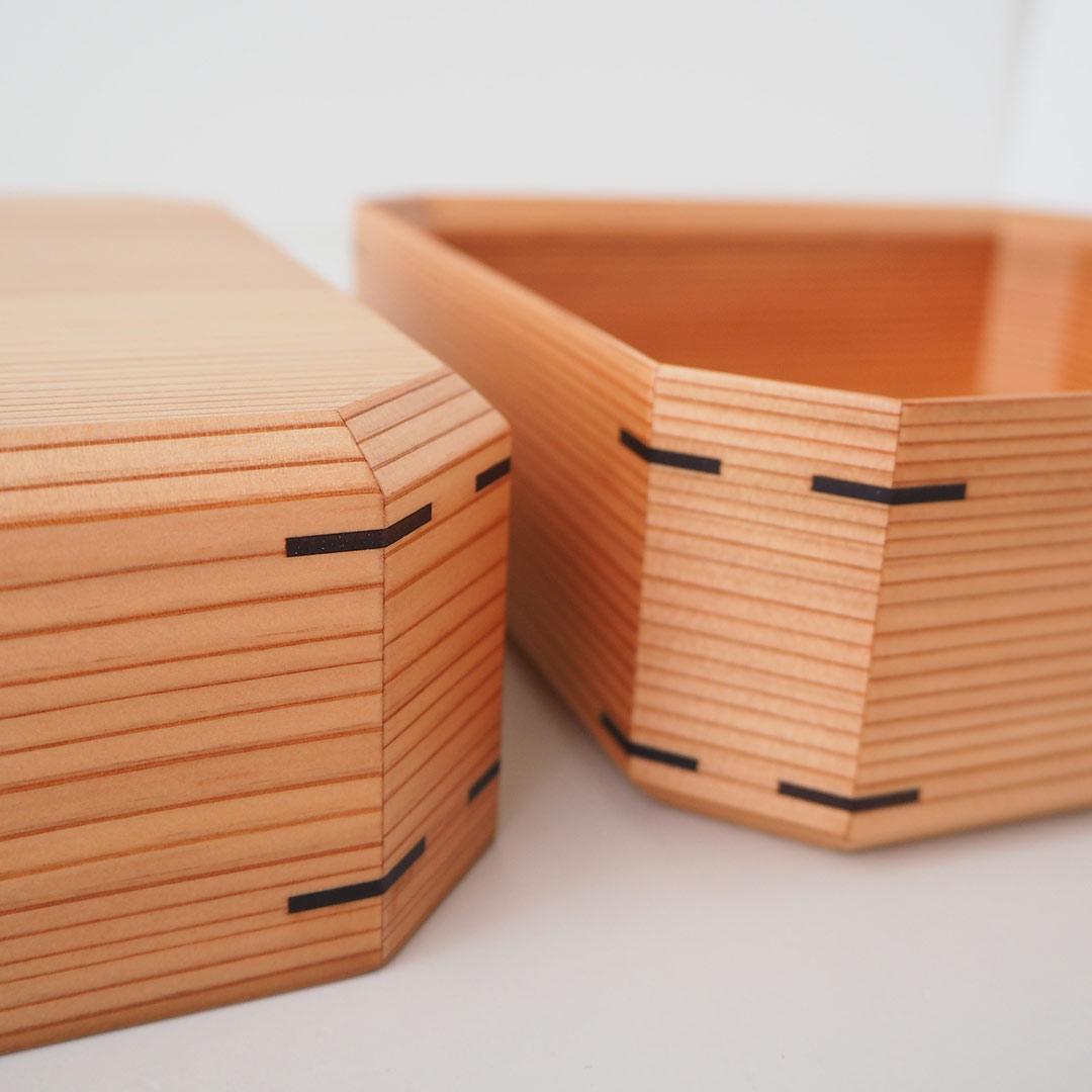 杉二段重箱