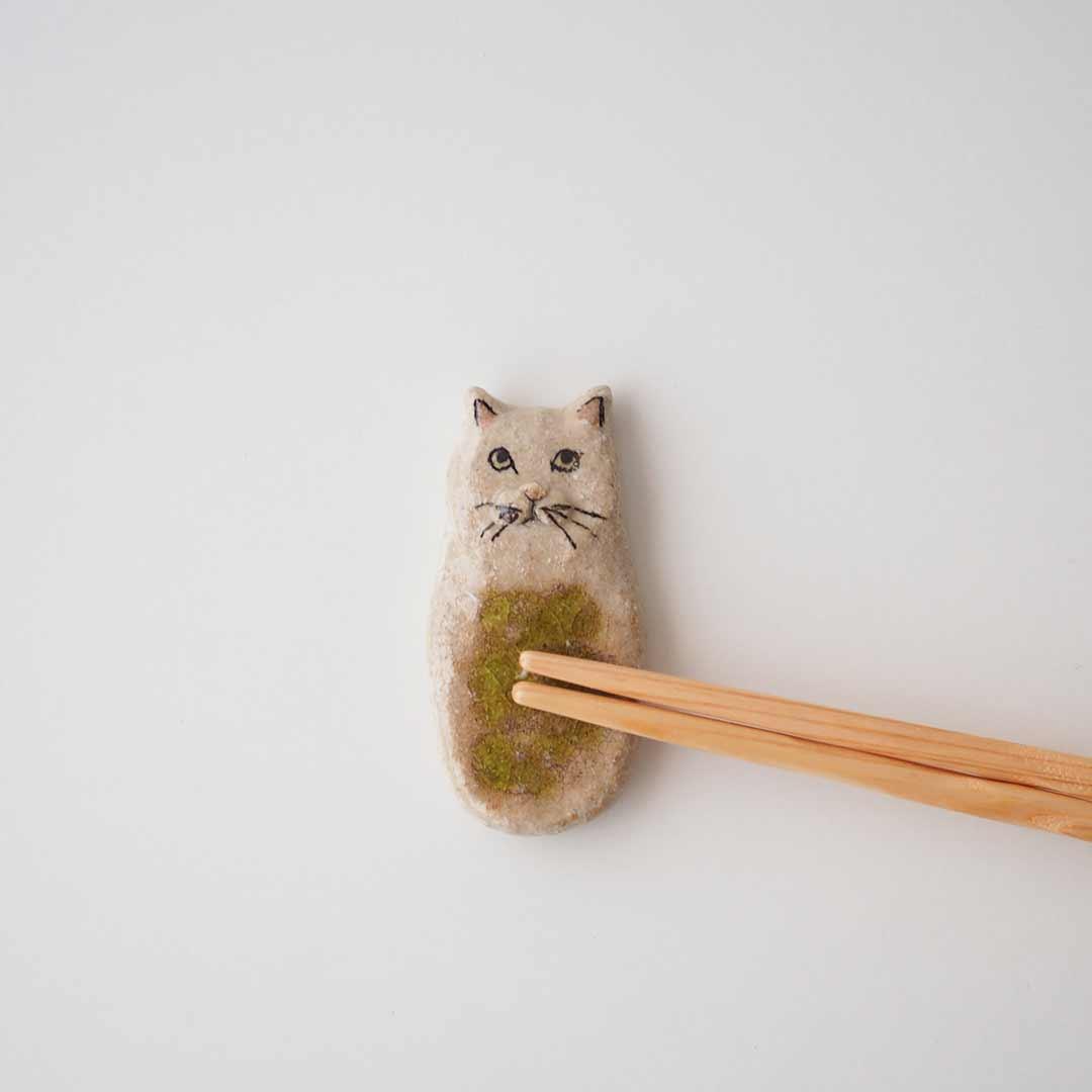 ねこの箸置き