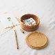 糸島ひのきの丸い弁当箱/2段