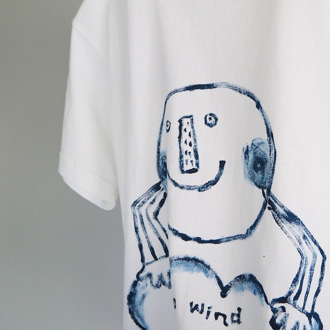 手描きTシャツ/Sサイズ(unisex)