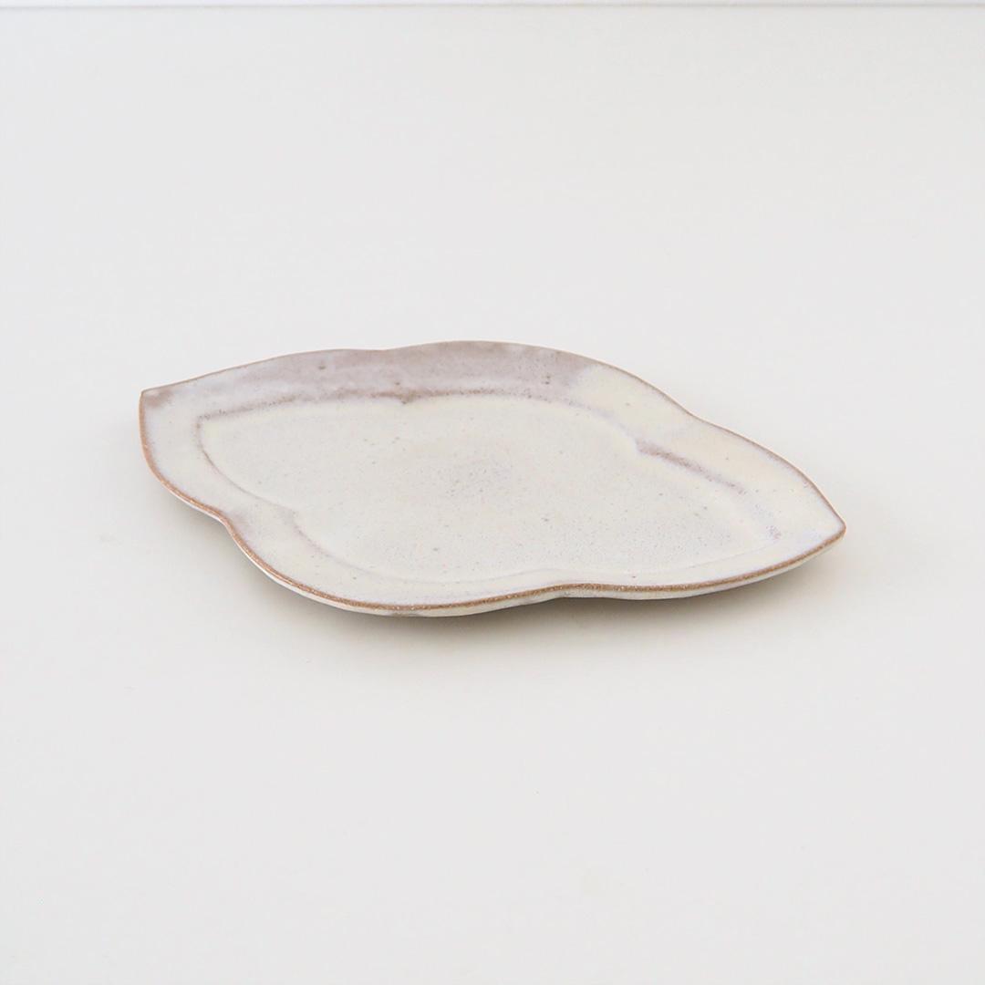 花菱プレート/灰桜