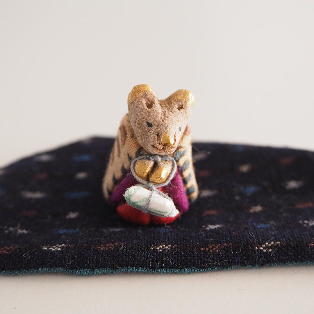 木目込みの干支飾り/ねずみ