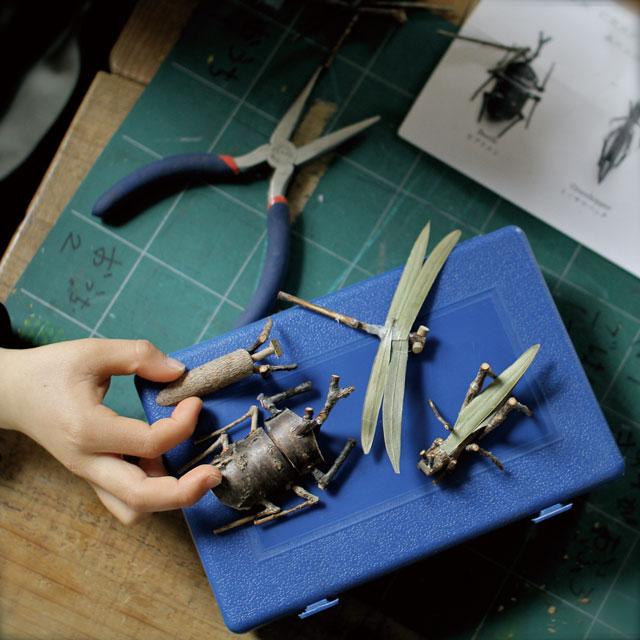 グリーンクラフト 森の工作キット/昆虫