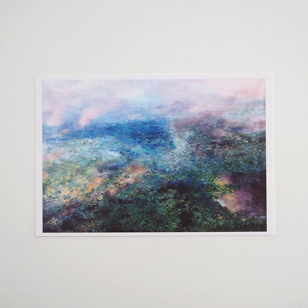 ポストカード/reflection〜雷山川に映る空〜