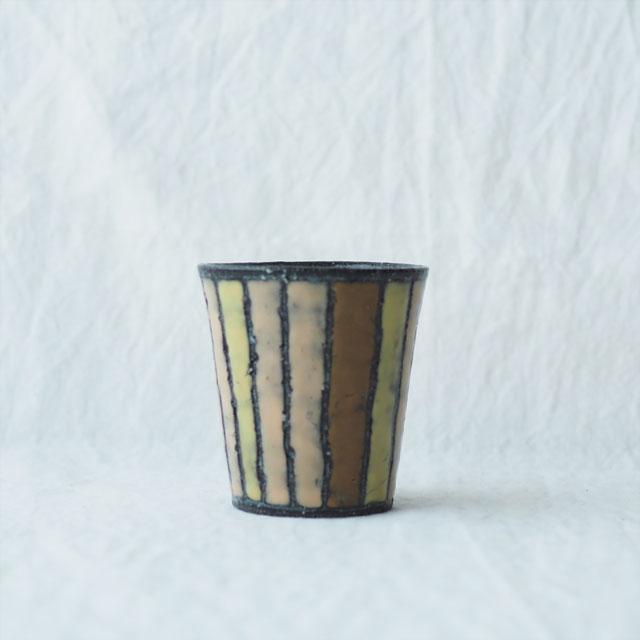 土色絵のフリーカップ【在庫限り】