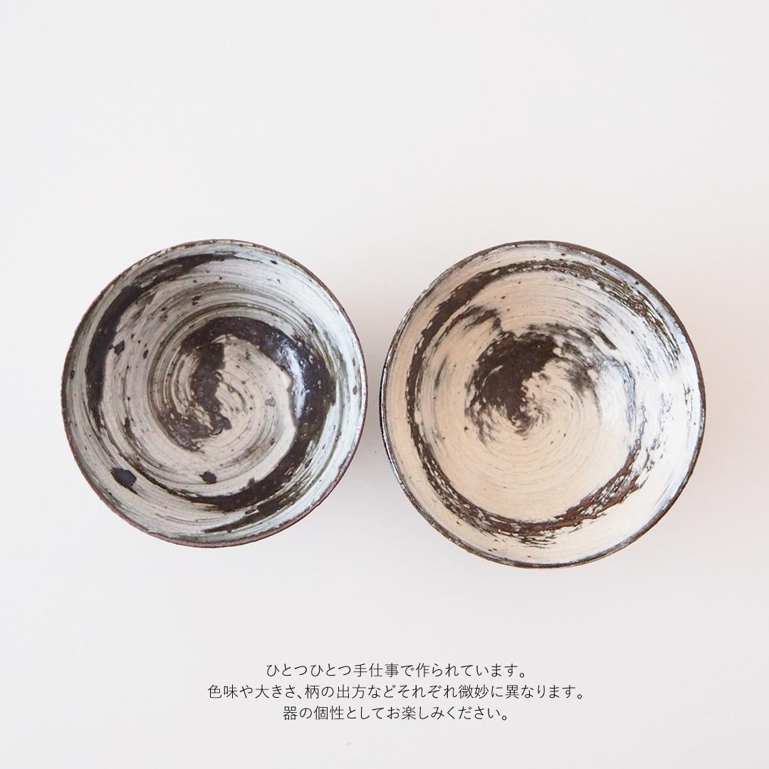 刷毛目/唐津茶碗/大