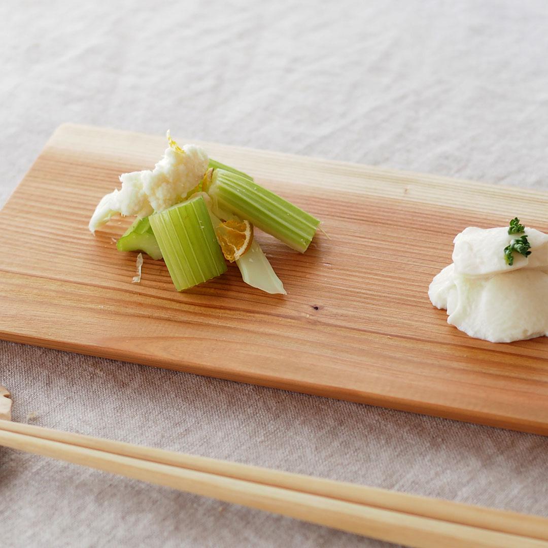 木の板皿/糸島杉