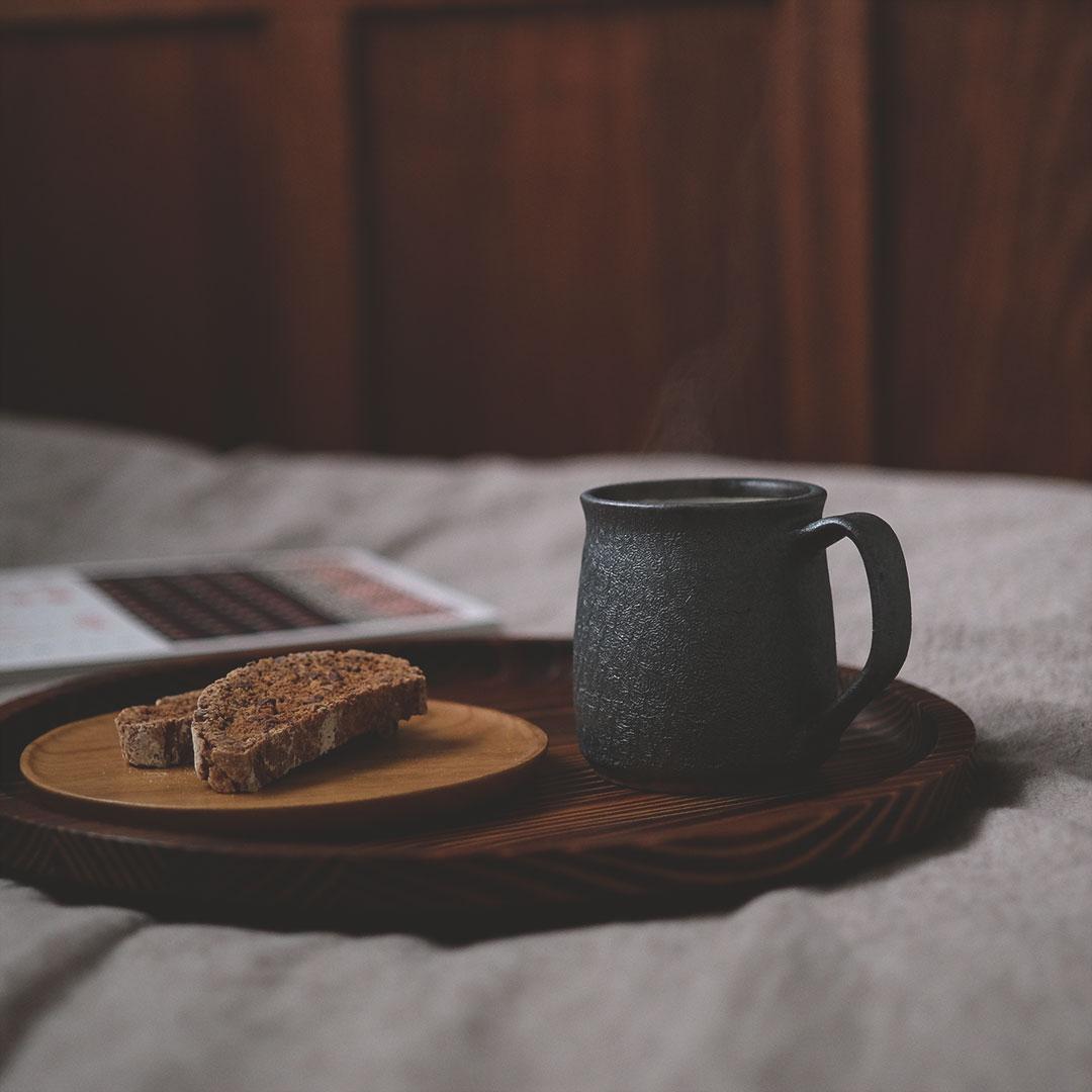鉄灰釉/マグカップ/定番