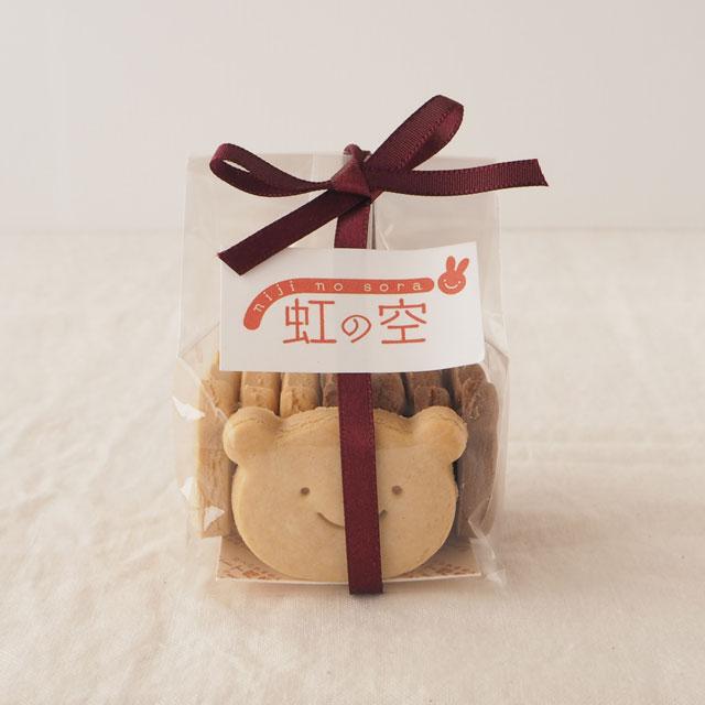 くまクッキー(メープル&ココア)大サイズ