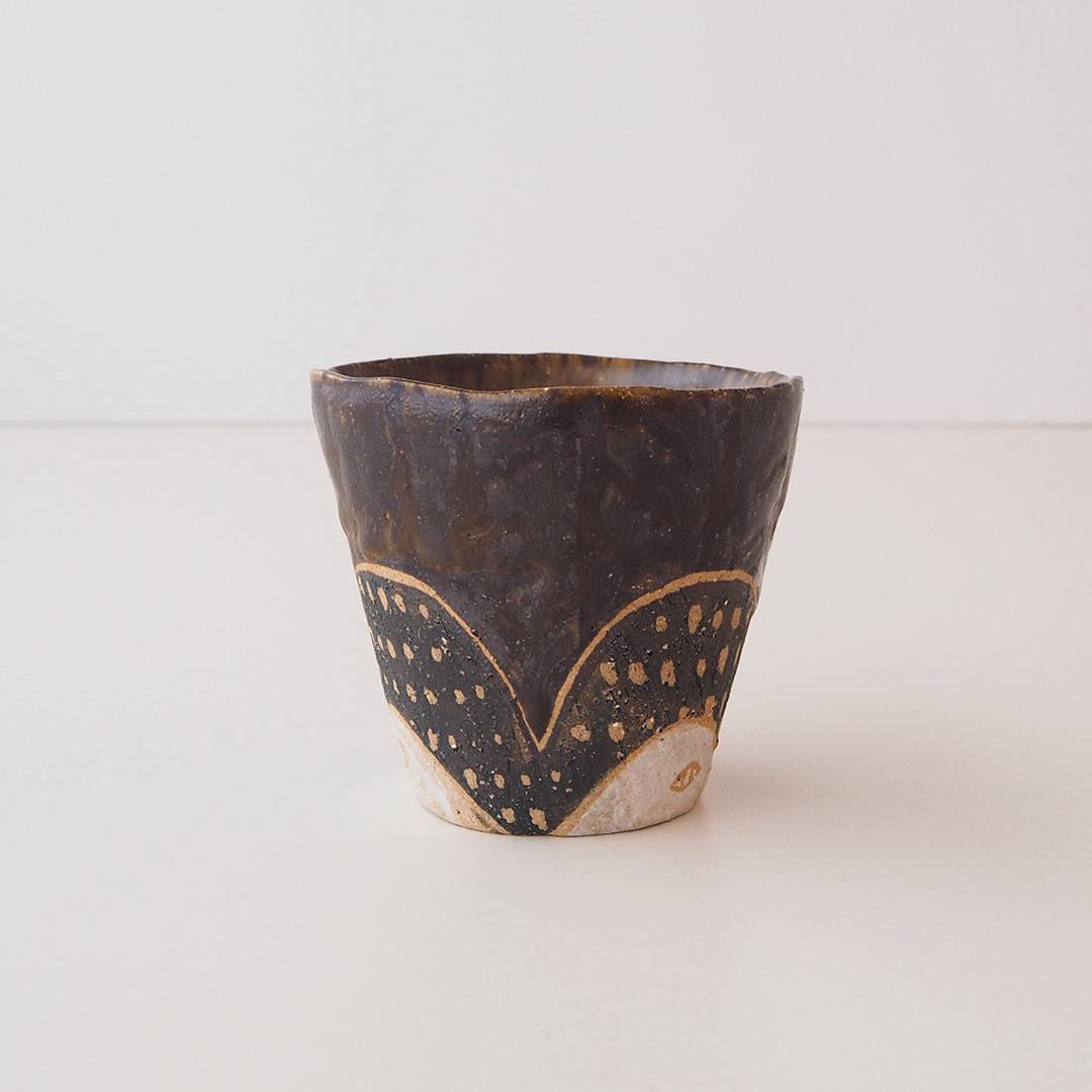 オオハシの手びねりカップ