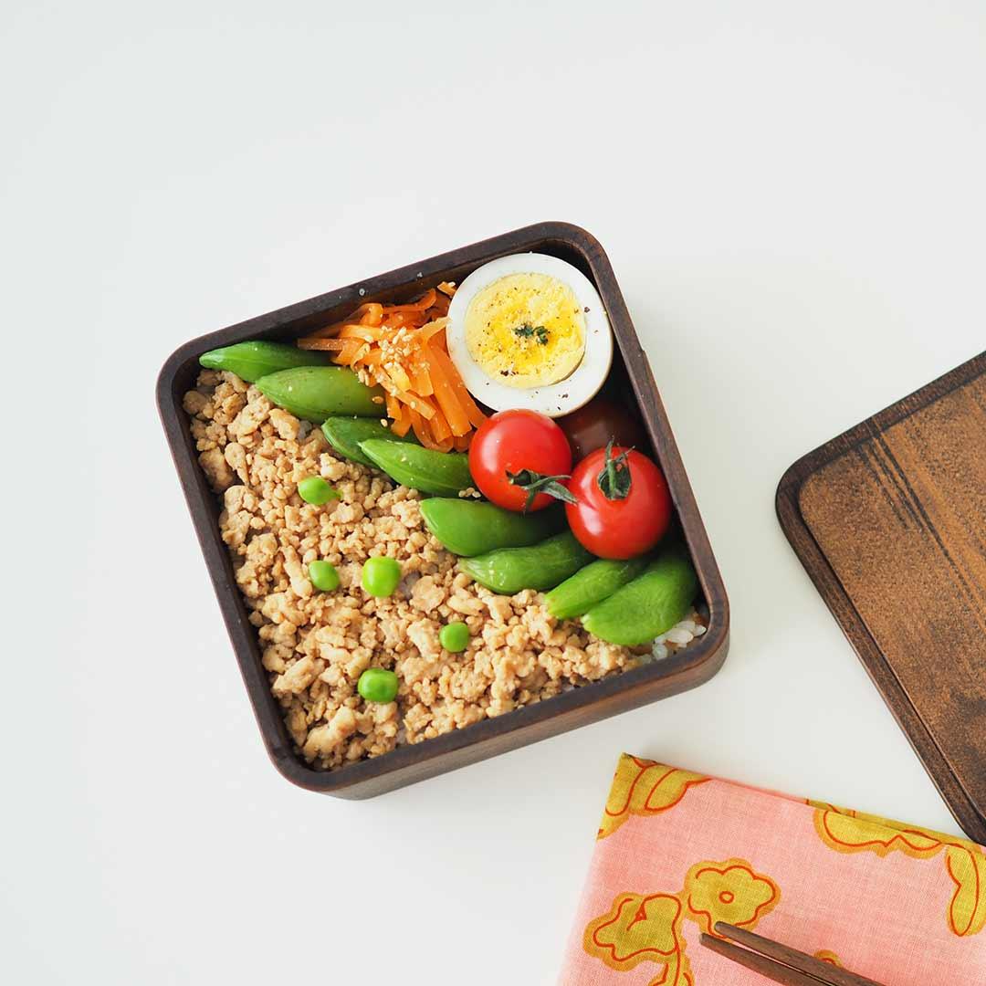 うるしの弁当箱/正方形