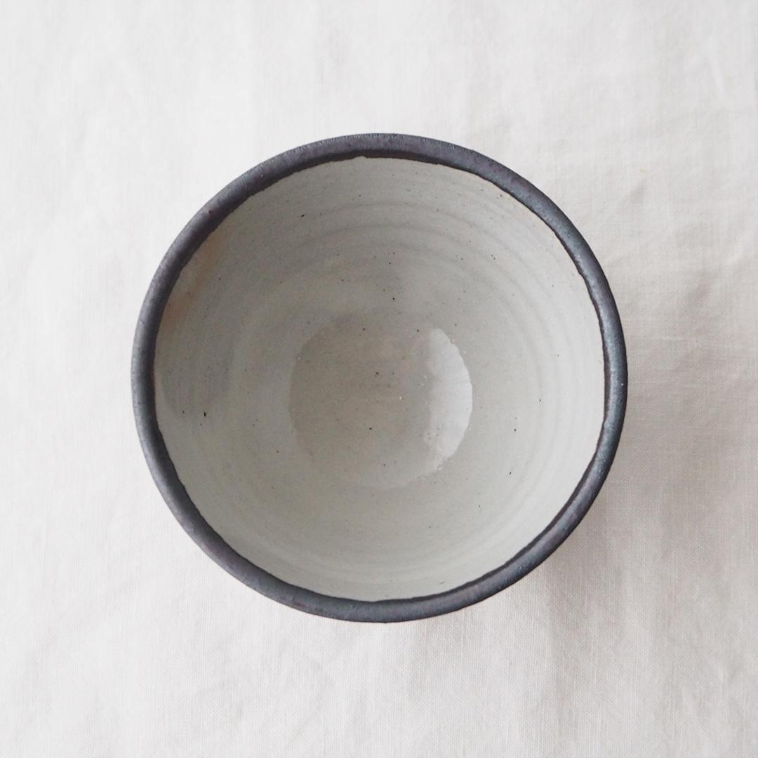 鉄灰釉/湯のみ