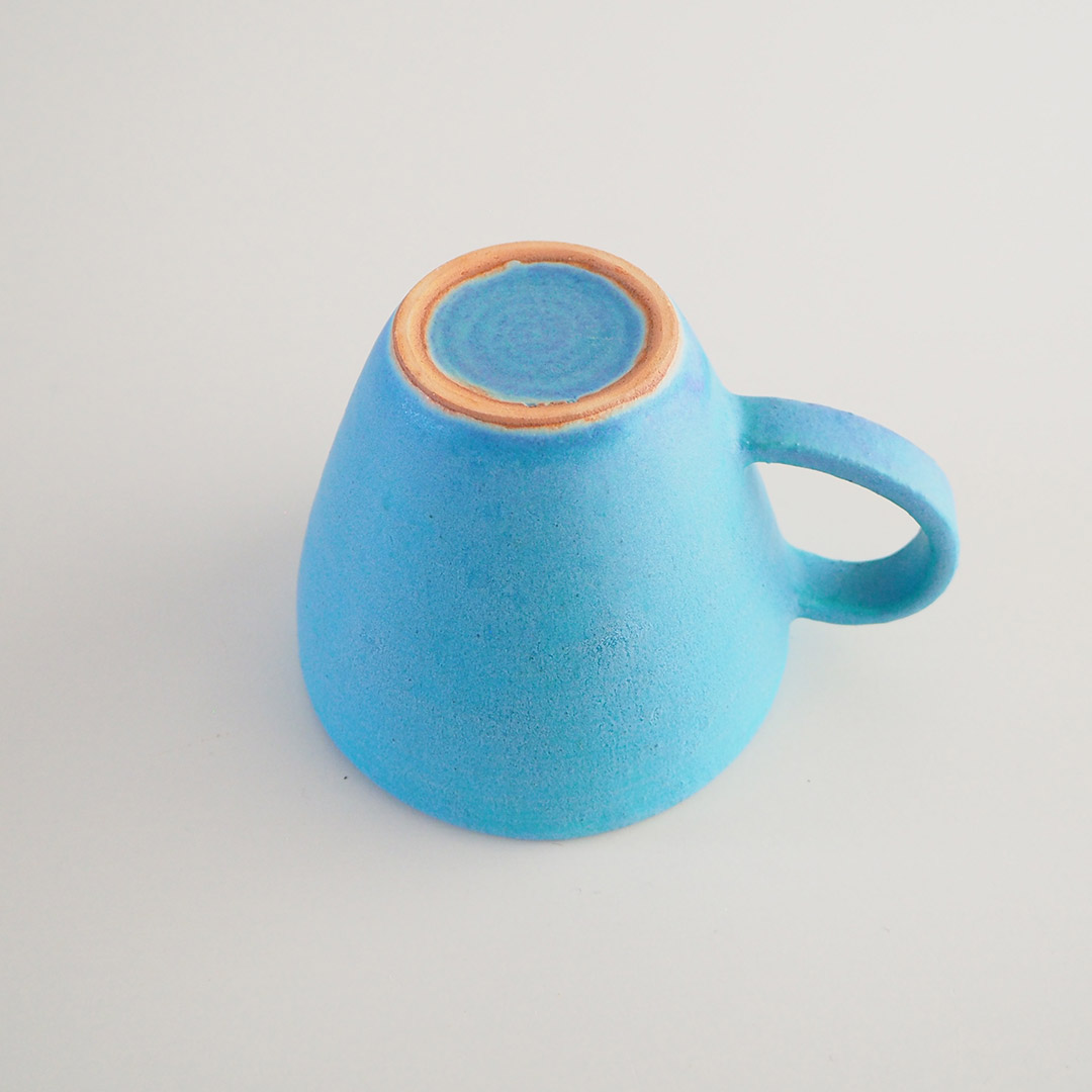 Pure blue/三角マグカップ