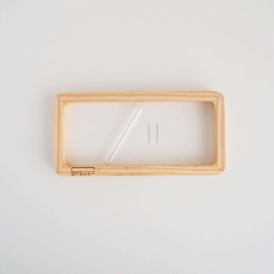 一輪挿し/answer frame/S