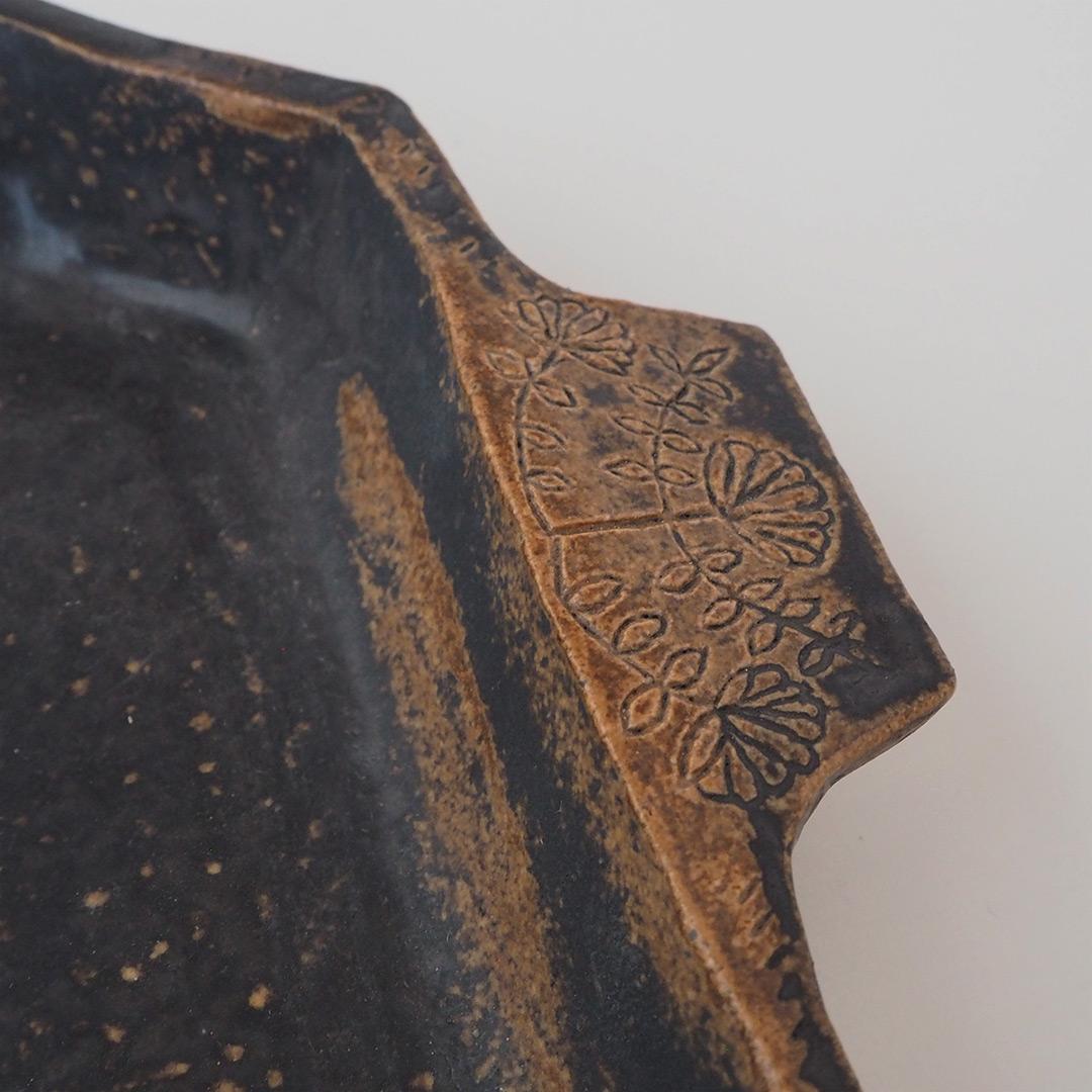 八角形のオーブン皿
