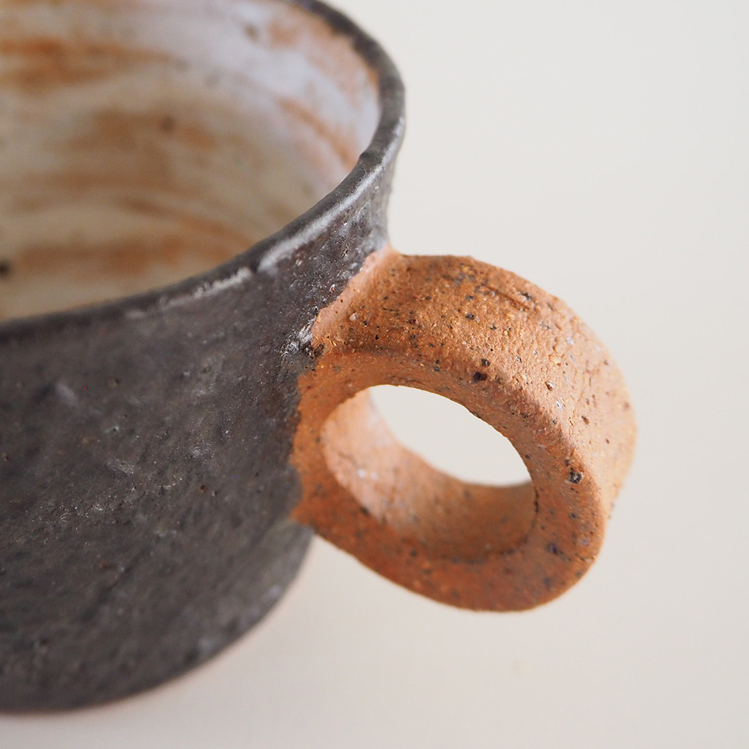 YOGAN黒/デミタスカップ