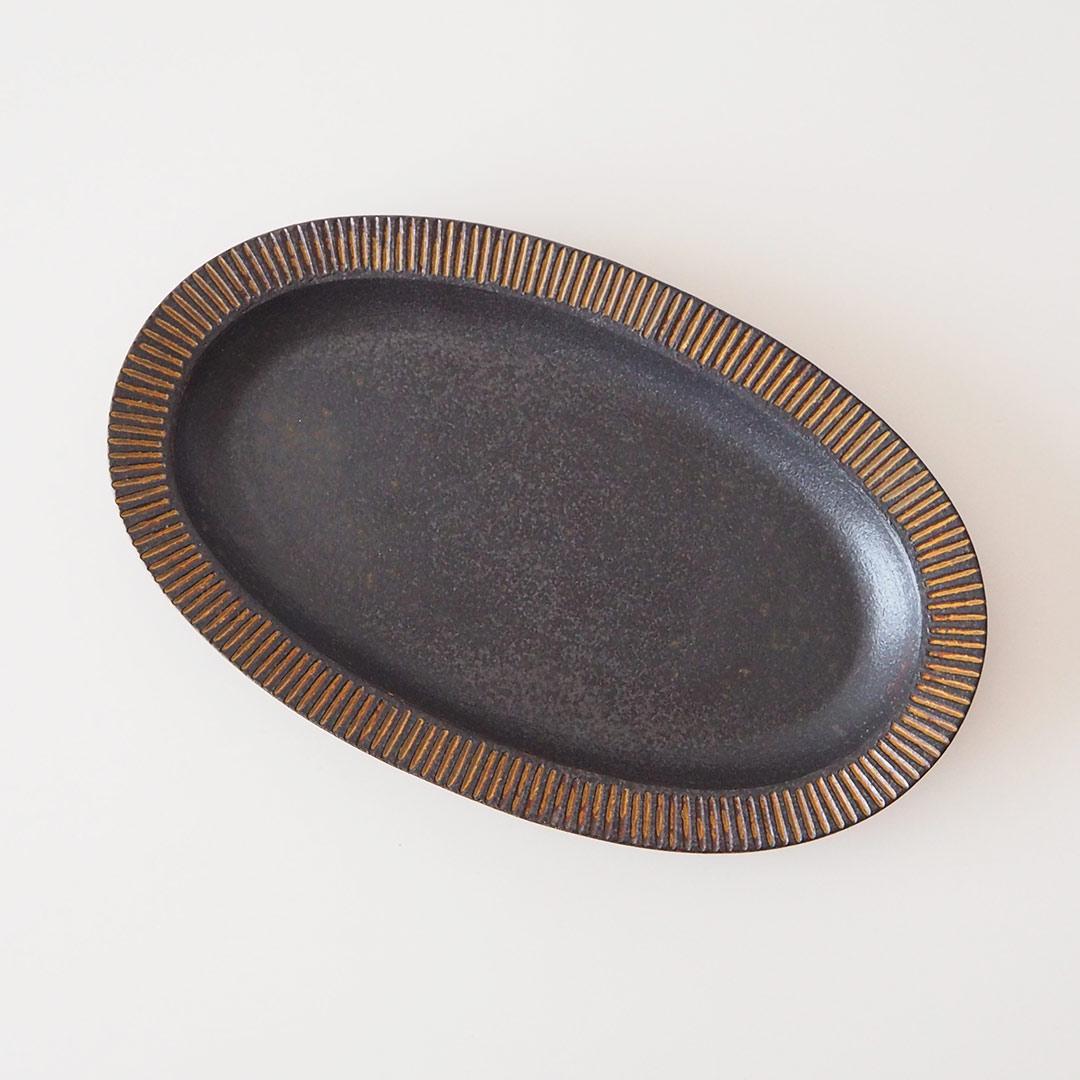 耐熱/リム長皿/32cm
