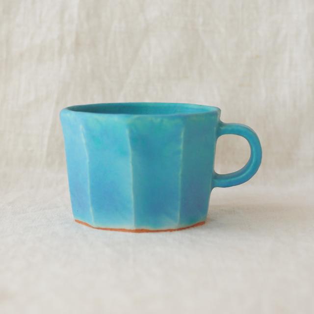 Pure blue/マグカップ(面取り)