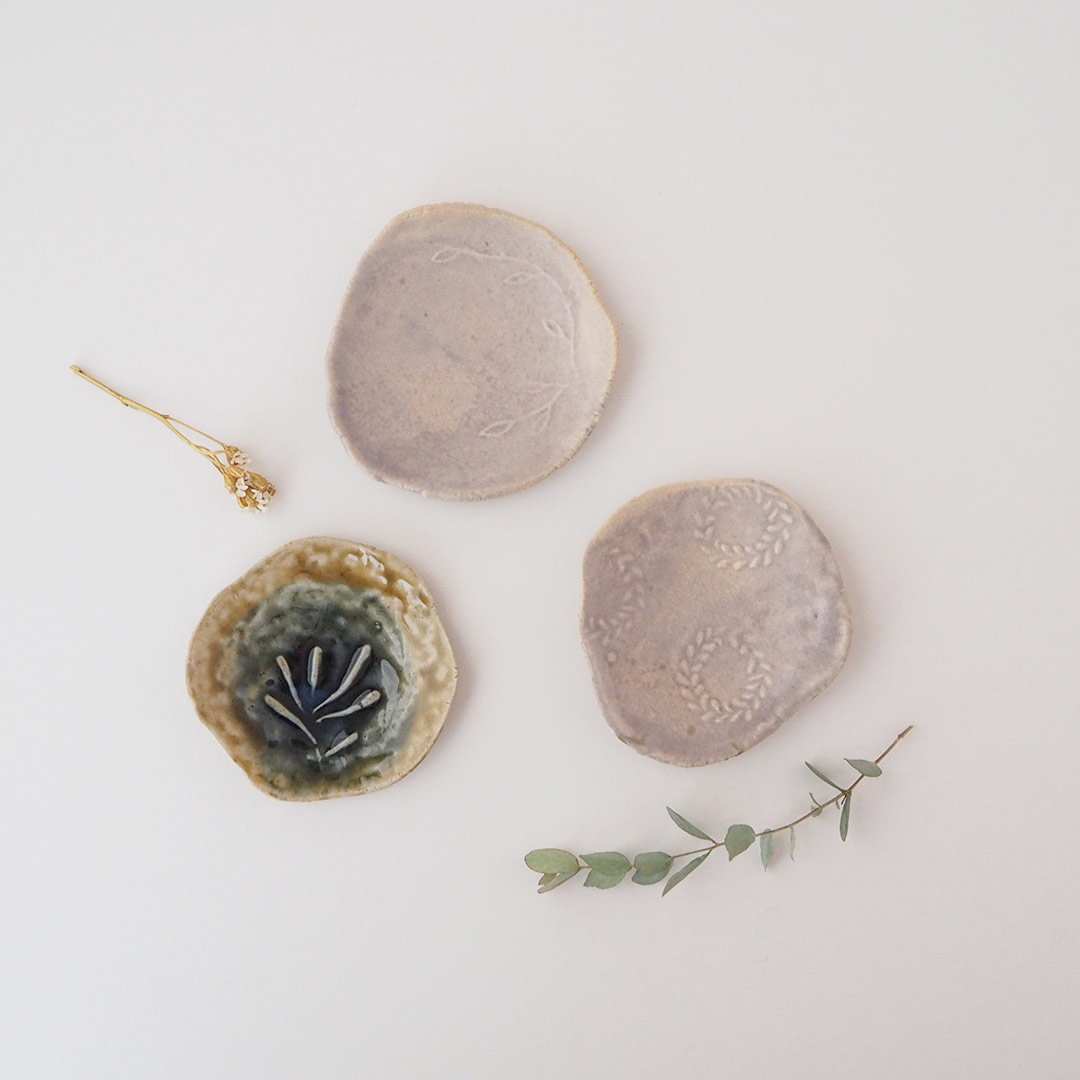 植物の豆皿