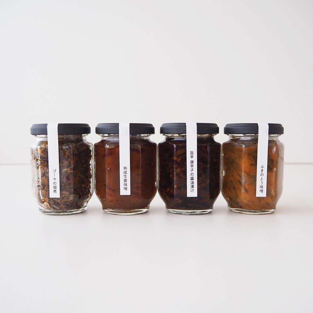 杉箱ギフト/白糸の森 佃煮4種詰め合わせ/オリジナルメッセージ入れられます