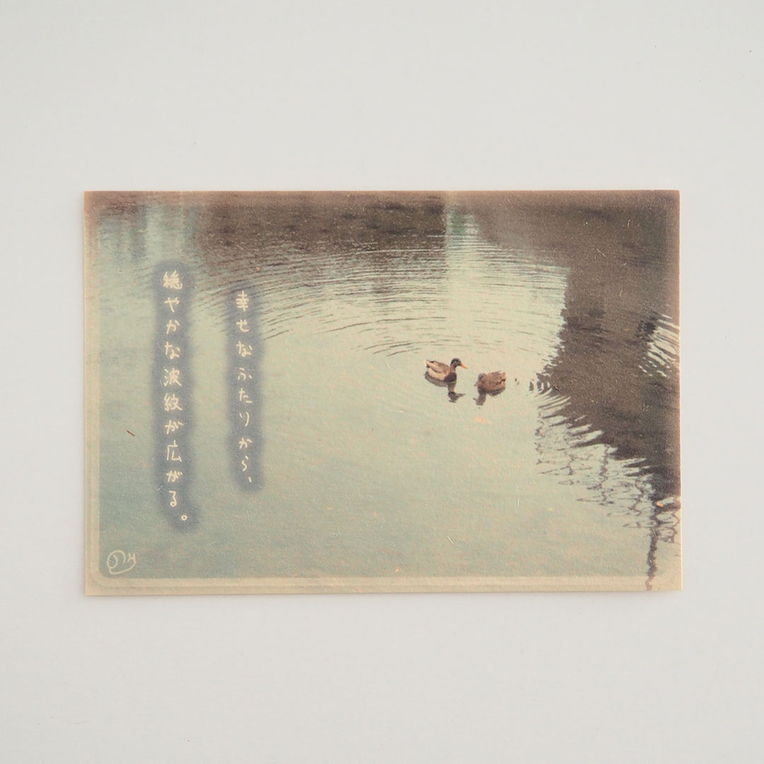 写真と言葉のポストカード/081幸せは広がる