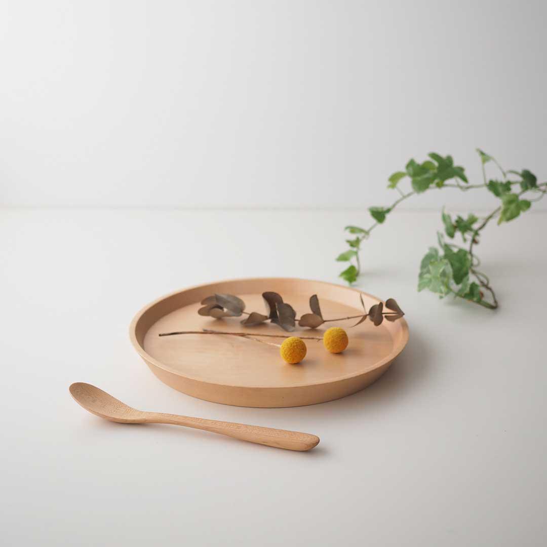 木製プレート/メープル/M/24cm【在庫限り】
