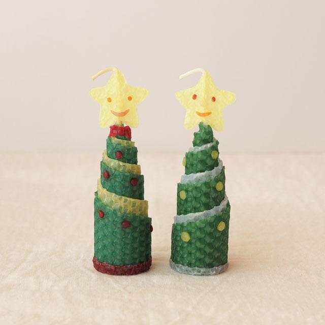 みつろうくるくるキャンドル/手づくりセット/クリスマス